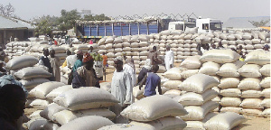 File photo: Prices of food stuffs has gone up in Taraba state
