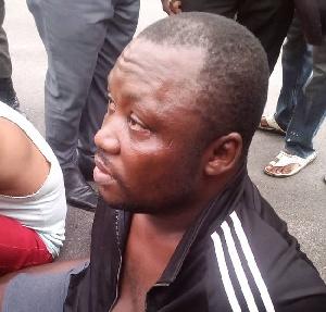 Suspected kidnapper, Chukwukadebia Nwanosike