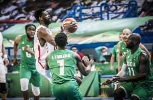 Nigeria's senior national men's basketball team, D'Tigers