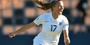 Leicester City player of the season Ashleigh Plumptre