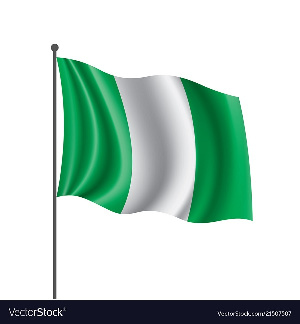 The Nigeria flag