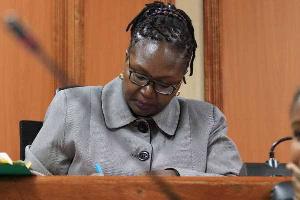 High Court judge, Teresia Matheka