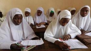 School students in Hijab