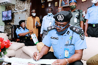 Commissioner of Police in Oyo State, Mr Nwachukwu Enwonwu