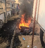 Suspected motorcycle thief burnt alive by mob