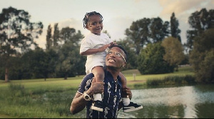 Wizkid features his three sons in SMILE