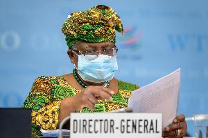 Director-General at the World Trade Organisation (WTO), Dr Ngozi Okonjo-Iweala