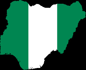 The map of Nigeria