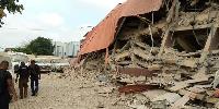 School building collapses in Lagos