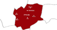 Osun state map
