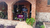 Police officers dispatched to shut down LGBTQI office in Accra, Ghana on Wednesday February 24, 2021
