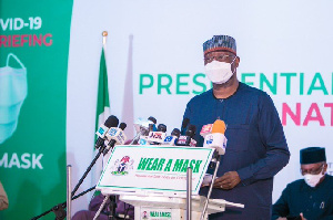 Chairman of PSC and Secretary to the Government of the Federation (SGF), Boss Mustapha
