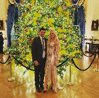 Tiffany Trump and Michael Boulos