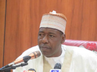 Babagana Zulum leads prayer for burial