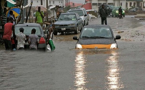 Parts of Lagos flooded