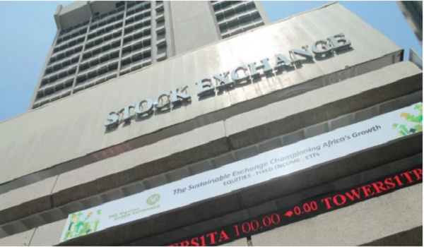 Building of the Nigerian Stock Exchange (NSE)