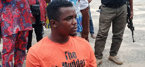 Uduak Friday Akpan, the confessed killer of job seeker, Iniubong Umoren