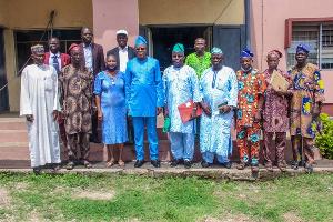 OyoSUBEB and NAPTAN executives