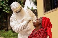 File photo: Coronavirus testing