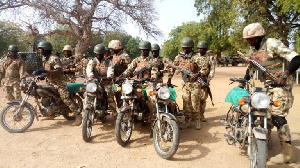 Operation Lafiya Dole Brigade mobilized with bikes to flush out Boko Haram in Borno
