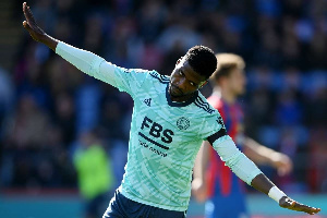 Leicester City striker, Kelechi Iheanacho