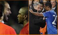 Guardiola, Mourinho and Eto'o