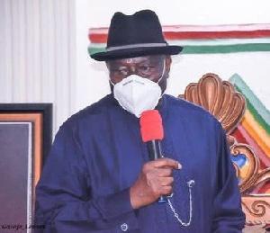 Former President, Goodluck Ebele Jonathan