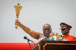 Akufo-Addo sworn in for his second term