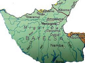 Bayelsa State map