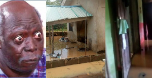 Ajirebi and his flooded property