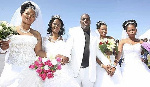 File photo: A polygamous marriage