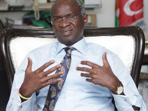 Minister of Works, Mr Babatunde Fashiola