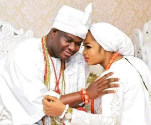 Ooni of Ife and Olori Prophetess Naomi