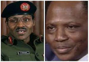 Muhammadu Buhari and Umaru Dikko