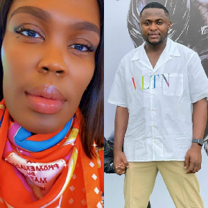 Ubi Franklin and Luxury shopper, London Gbajumo