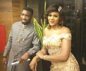 Timi Dakolo with wife Busola