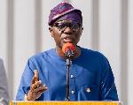 Babajide Sanwo-Olu, the governor of Lagos State