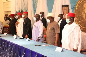 The southeast governors met over the insecurity in the zone.