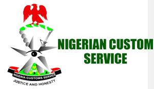File photo: Nigeria Customs Service logo