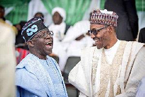 President Muhammadu Buhari and Bola Ahmed Tinubu