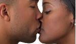File photo: Kissing