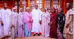 Photos: Buhari, Aisha, other family members celebrate Eid
