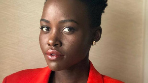 Kenyan born American actress, Lupita Nyong'o
