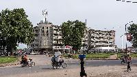 A street in Kinshasa