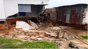 The residential building that collapsed in Woji, on the outskirts of Port Harcourt