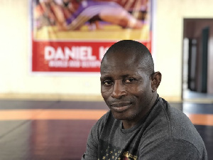 President of the Nigeria Wrestling Federation, Hon. Daniel Igali
