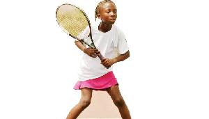 Teenage tennis sensation, Nene Yakubu