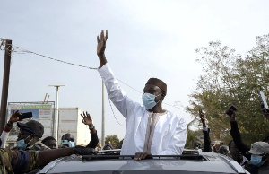 Senegalese opposition leader Ousmane Sonko