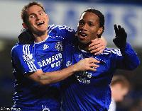 Lampard and Drogba