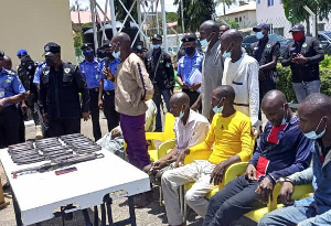 The eight-man gang that allegedly abducted and killed Pa Dufwan Dariye